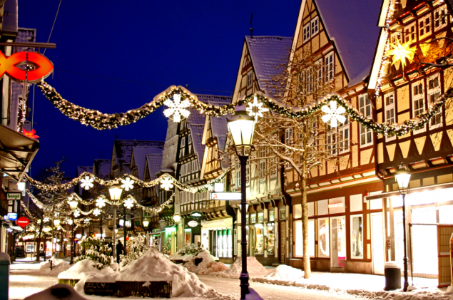 Winterzauber in Celle